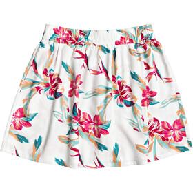 Roxy Shallow End Skirt Women snow white tropic call